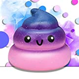 Winkey Squishy Toy for Kids,Exquisite Fun Galaxy Poo Scented Squishy Charm Slow Rising Stress Reliever Toy,Best Toy Gift