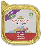 Almo Nature Daily Menu BIO Katzenfutter mit Rind (32 x 100 g)