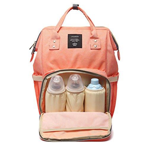 Cuddty pannolini pannolino borsa zaino da viaggio impermeabile multifunzione borsa mamma per i bambini. grande capacità, elegante e durevole cuddty perfetto per lavoro o gita