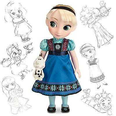 Disney Store - Muñeca Elsa de Frozen edición Animators (2014) por Disney
