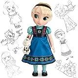 Disney Store - Poupée Animator Elsa de La Reine des Neiges (2014)