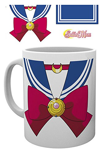 empireposter 745705 Sailor Moon - Costume da Costume - Tazza, Diametro 8,5 cm in ceramica, Multicolore, 12 x 8 x 9,5 cm