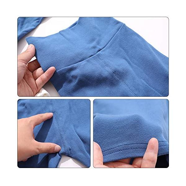 Eastern Corridor-EU - Conjunto de ropa interior térmica para bebés y niños (algodón, 2 piezas), color rosa gris oscuro… 2