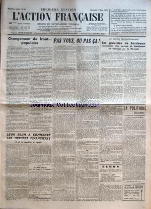 ACTION FRANCAISE (L') [No 66] du 07/...