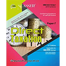 Ebook Scanner CMA Inter Group- I (2016 Syllabus ) Paper-7 Direct Taxation