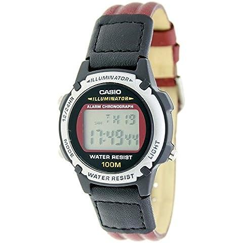 CASIO LW-100HL-5A - Reloj digital multifunción para cadete - Alarma, Crono, Sumergible