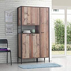Timber Art Design Stretton Kitchen Dresser Dining Room Display Larder Cabinet Pantry Cupboard