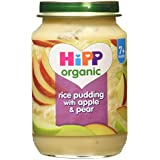 HiPP Organic Rice Pudding with Apple & Pear 7+ Months 190g
