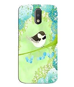 Citydreamz Birds\Jungle Hard Polycarbonate Designer Back Case Cover For Motorola Moto G4 Play