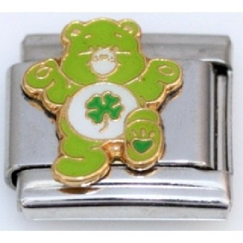 care-bear-good-luck-bear-9mm-italian-charm-fits-zoppini-talexia-boxing-and-nomination-style-italian-