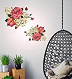 Decals Design Wall Stickers Peony Rose F...