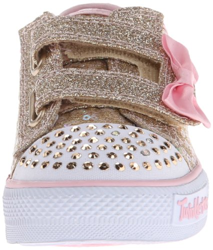 Skechers Shuffles Sweet Steps, Chaussons Sneaker Fille Or (Gdpk)