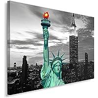 Feeby Frames Cuadro en Lienzo, Cuadro Impresión, Cuadro Decoración, Canvas 80x120 cm,