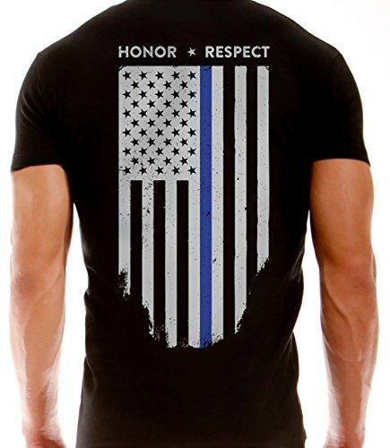 39eb47b90193 Thin Line Tactical Fina línea azul – Camiseta chicago y American delgada  línea azul bandera -