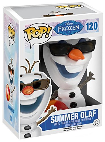 Funko Pop Olaf veraniego (Frozen 120) Funko Pop Frozen