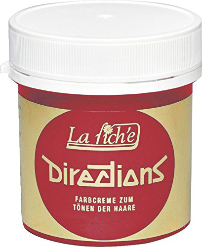 La Riche Directions Unisex Semi Permanent Haarfarbe, poppy rot, 1er Pack (1x 89 ml) (Red Poppys)