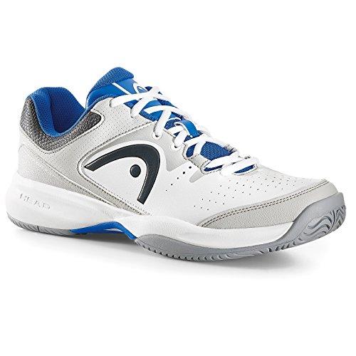 Head - Lazer Ii Whbl, Scarpe da tennis Uomo Bianco (Bianco (White/Blue))