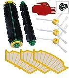 Roomba iRobot 500Reinigungsset mit Bürsten und Filter für Serie 500510520530531532537540550560570580