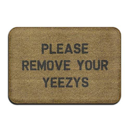 Fluff Trim (Fußmatten Please Remove Your Yeezys Super Absorbent Anti-Slip Mat,Coral Carpet,Carpet Door Mat,Carpet,Carpet,Door Mat,23.6