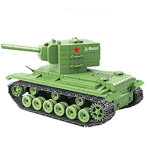 Seciie 818 PiezasTanque Juguete WW2 Guerra Tanque