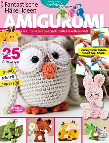 Fantastische Häkel-Ideen: AMIGURUMI Vol. 1: Das ultimative Special für alle Häkelfreunde (Amigurumi Drache)