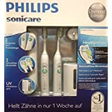 Philips Sonicare Healthy White Diamond Edition mit UV und 2 Handteilen