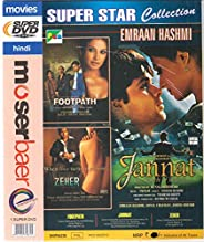 Footpath,Zeher,Jannat , 3 Movies In One DVD+Free CD