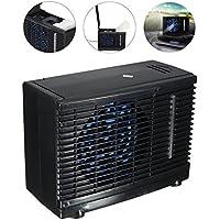 cheerfulus Acondicionador de Aire evaporativo portátil del Coche 35W Ventilador de refrigeración del Coche Mini refrigerador de Hielo de Agua de Poco Ruido Universal DC12V