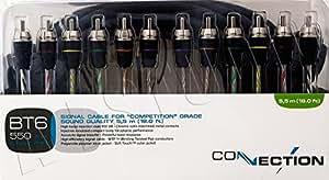 AUDISON HERTZ Câble RCA à 6 canaux de grande qualité 5,5 m