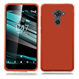 TBOC Red Ultra Thin TPU Silicone Gel Case Cover for