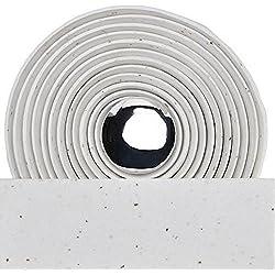 Velo–Prox Drop Bar Wrap corcho cinta de manillar de bicicleta fixed Gear Fixie–Bicicleta de carretera, Prox, blanco