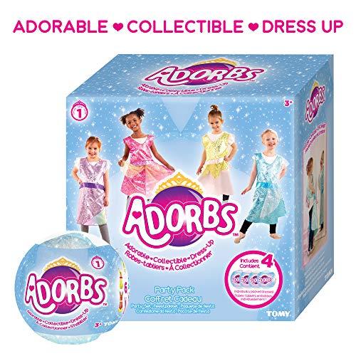 Frost Prinzessin Kostüm - TOMY L85018 Online Exklusives 4 Pack Adorbs Mädchen Kostüm, Kostüm, Prinzessin, Mehrfarbig