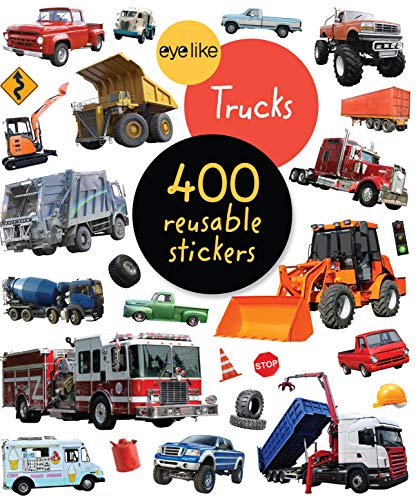 EyeLike Stickers: Trucks