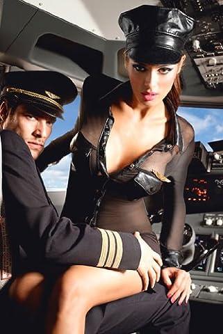 Airline Pilot Costume De Déguisement - COSTUME BACI BACI AIRLINE PILOT