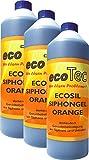 3x1 Ltr. Ecosil Abfluss-Sperr-Gel Orange in Profi-Qualität // Beruhigtes Urlaubs-Gewissen //