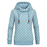 Briskorry Damen Drucken Kapuzenpullover Frauen Kapuzenpullis Sweatshirt Lose Wintermantel Parka Pullover Hoodies Sweatjacke Herbst Winter Mantel Outerwear