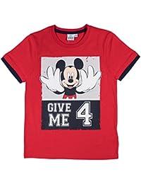 Disney Mickey Jungen T-Shirt - rot