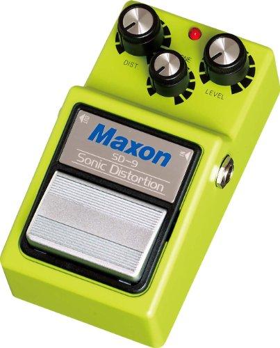 Maxon SD-9 Sonic Distortion · Pedal guitarra eléctrica