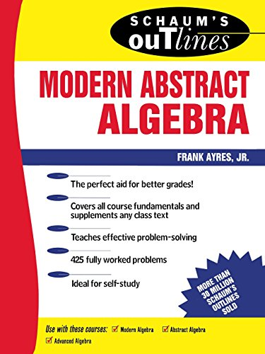 Schaum's Outline of Modern Abstract Algebra (Schaum's Outline Series)