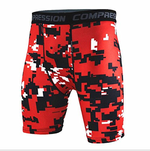 Men's Army Military Fitness Gym Running Compression Shorts . as pic 5
