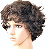 Forever Young Ladies Light Brown Short Fashion Wig With Rolling Curls by Forever Young