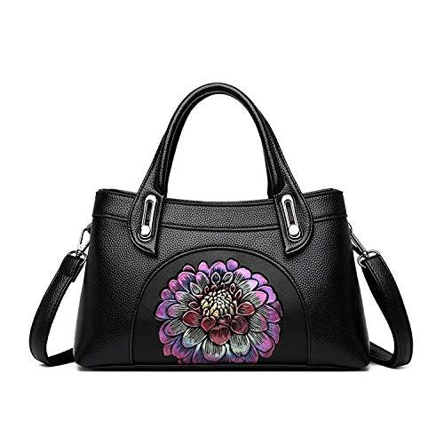 QX-DIMDIM Damentasche Umhängetasche Vielseitige Umhängetasche Handtasche Leichte Luxushandtasche (Color : C) -