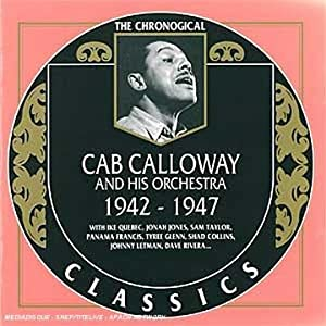 Freedb 89115219,89115319 - Hey Now, Hey Now  Track, music and video   by   Cab Calloway