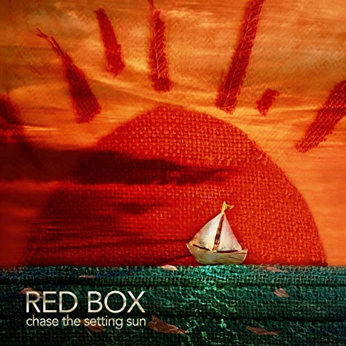 Chase the Setting Sun Red Music Box