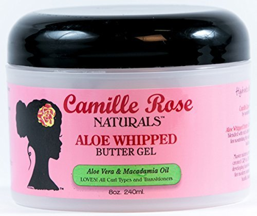 Rose Aloe (Camille Rose Naturals Aloe Whipped Butter Gel, 8 Ounce by Camille Rose)