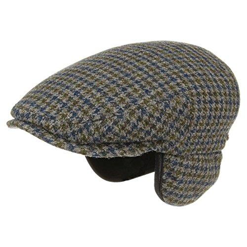 Stetson Casquette Kent Wool Oreillettes Homme | Made in Germany Casquettes Gavroche Bonnet pour avec Visiere, Oreillettes, Doublure Automne-Hiver