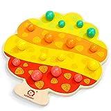 LXWM Obstbaum Ordner Musik Tischspiel Kindererziehung Eltern-Kind Spielzeug Früherziehung 3-6 Jahre alt