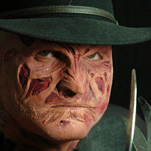 CREATIVE Prothese Maske Gesicht Eddy - Freddy Krueger Kostüm Maske