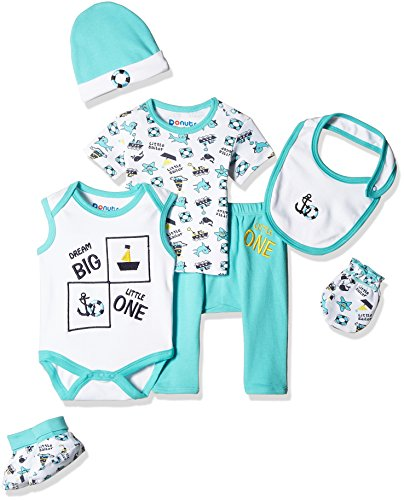 Donuts Baby Boys Clothing Set (266077291_Assorted_03M)