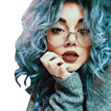 Occhiali , feiXIANG® Moda Unisex Classic Metal frame specchio arrotondato occhiali,Resina + Lega (D)